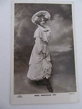 Antique UK postcard PHOTO Glamour Gabrielle Ray written on rear, used 1904