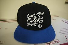 Can't Stop the Crooks AK47 Snapback Cap- Black/Blue Brand New with Tags