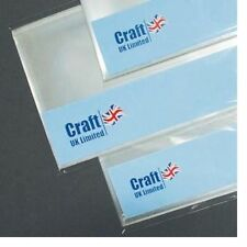 Craft UK A4 Cello Bags with Self Seal Strip Approx. 25