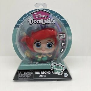 Disney Doorables Tag Along ARIEL Surprise Charms Inside Backpack Clip On New
