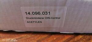 Rhöna Druckminderer GCE Acetylen  max. 300 bar Flaschendruckminderer Neu