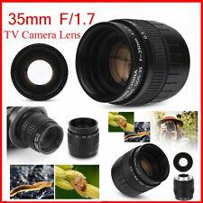 Fujian 35mm f/1.7 Closed Circuit TV Television Lens Photography Camera Accessory