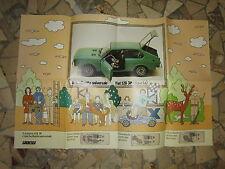 ALLEGATO A QUATTRORUOTE N°9 1975 FIAT 128 STORY