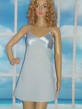 M HALSTON flirty gown Satin  silky crepe skirt  scallop edge NEW Free Ship