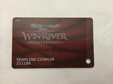 Players Slot Club Rewards Card Win-River Resort & Casino Redding California