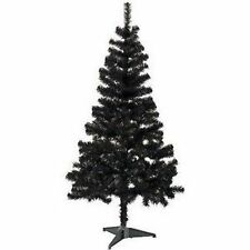 Schwarze Weihnachtsbäume