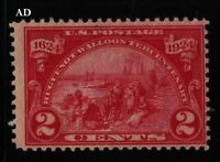 1924 Huguenot Walloon Sc 615 MNH nice original gum 2c carmine (AD