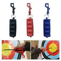 Arrow Extract Silicone Archery Puller Hunting BowShooting Keychain Keyring 2019