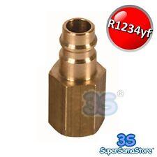 3S RACCORDO ADATTATORE per BOMBOLA HONEYWELL GAS R-1324yf R1234yf CLIMA AUTO New