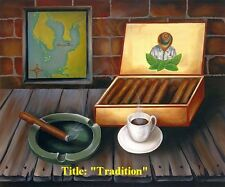 """Price Reduced!! """"Tradition"""" Oil painting 18""""x 12"""" Signed by Artist."""