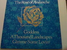 "12"" PS THE ROSE OF AVALANCHE 3T GODDESS (UK 1985)"