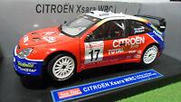 CITROËN XSARA WRC 2003 #17 RALLY MONTE CARLO 1/18 SUNSTAR 4403 voiture miniature