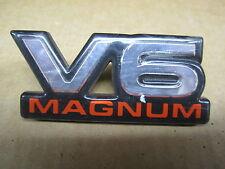 "DODGE EMBLEM ORNAMENT "" V6 MAGNUM """