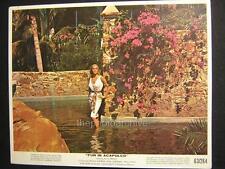 URSULA ANDRESS FUN IN ACAPULCO 1963 VINTAGE PHOTO W709