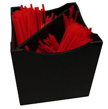 Tall straw holder stirrers organizer catering caddy catering stirrer