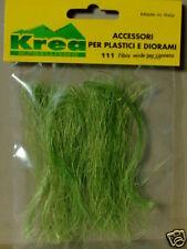 Fibra verde per canneto per plastci o diorami tutte le scale - Krea 111