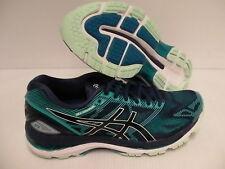 Asics Mujer Gel Nimbus 19 Insigia Azul Glacer Mar Atletismo Zapatos Talla 8Us