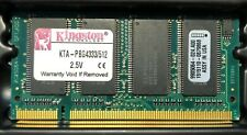 Kingston PowerBook Memory 512MB DDR SODIMM PC2700, 333MHz RAM