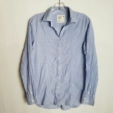 American Eagle Womens Size XS Button Front Long Sleeve Light Blue Shirt - U11