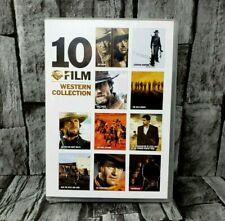 10-Film Western Collection Dvd Unforgiven Rio Bravo Pale Rider - Ships Free