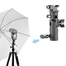 Shoe Mount E Type Flash Light Stand Bracket Umbrella Holder for DSLR Camera P