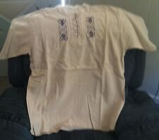 Shirt, Unique Ecuadorian Style Size XL (Shirt #2)