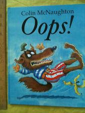 Oops! by Colin McNaughton (Hardback, 1996) PRESTON THE PIG pre-school 3+ funny