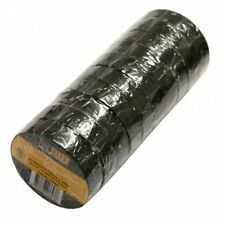 10 Pack Black Insulation Tape