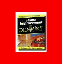 ☆GD%BOOK:HOME IMPROVEMENT FOR DUMMIES-CARPENTRY+PLUMBING ELECTRICAL+IN+OUTSIDE☆