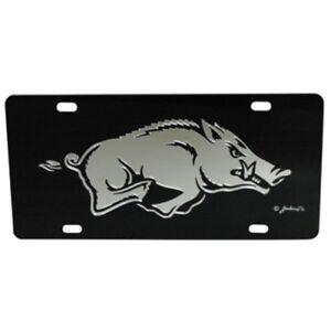 7 Inch Go Hogs Logo Razorbacks University of Arkansas UARK AR Hog Removable Wall Decal Sticker Art NCAA Home Room Decor 7 by 4 Inches