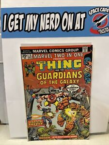 Marvel Two-in-one #5 Thing Guardians Of The Galaxy 1974 Marvel Comics