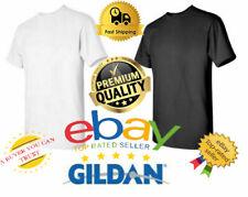 Gildan Mens Heavy Cotton T-Shirt (Pack of 5) Bulk Lot Solid Blank Tee 5000 *NEW*