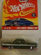 Hot Wheels Classics Series 2 #2 Green 1962 Chevy Bubble Top