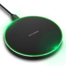 US FDGAO Fast 10W Qi Wireless Charger Pad Mat For iPhone 11 11Pro 8 8Plus XS XR