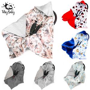 Einschlagdecke für Babyschale Kinderwagen Decke Babydecke Fußsack FrühlingSommer