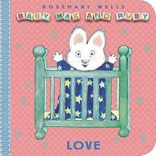 Love (Baby Max and Ruby)-ExLibrary