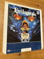 EVILSPEAK  1981 Horror RARE CED Selectavision VIDEODISC Clint Howard Eric Weston