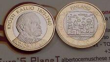 5 euro 2016 FINLANDIA Suomi Finland Finnland FINLANDE Kyosti KALLIO Финляндия