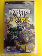 Monster Jam: Urban Assault (Sony PSP, 2008) No Manual! Tested! Works!