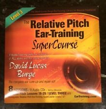The Relative Pitch Ear Training SuperCourse : Level 3, Burge, David Lucas