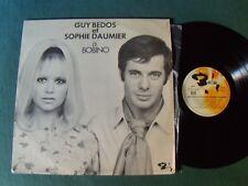 GUY BEDOS et SOPHIE DAUMIER à BOBINO - 1970 LP BARCLAY 920239 Jean-Loup Dabadie