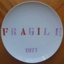 ELISEO MATTIACCI piatto in ceramica PREMIO BOLAFFI 1976 (rif 12a)