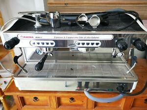 Faema E98 RE Proffessional Coffee Machine2-group semi-automatic with Filter