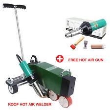DHL free shipping PVC TPO roof hot air welding machine welder +free hot air gun