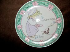"Precious Moments Winter'S Song Collectible 1995 Plate 6"" Diameter*"