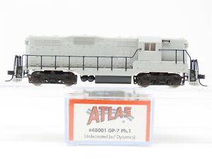 N Scale Atlas 48001 Undecorated EMD GP7 Diesel Locomotive No#