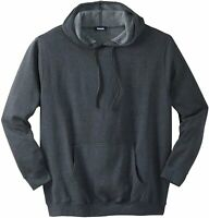 KingSize Men's Big & Tall Fleece Pullover Hoodie