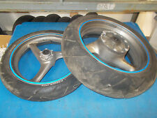 HONDA CBR 1100 XX SUPER BLACKBIRD 1100XX EFI 2000 - 2006 FRONT & REAR WHEELS SET
