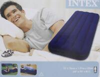 Intex Matelas lit d'appoint pneumatique gonflable 1 personne Camping Tente plage