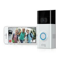NEW RING VIDEO DOORBELL 2 WI-FI 2 WAY TALK 1080 HD CAMERA Motion Detection